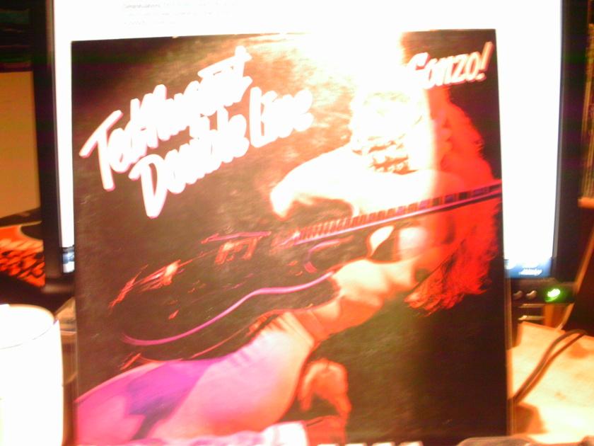 TED NUGENT - DOUBLE LIVE GONZO! 2 LP SET LIVE