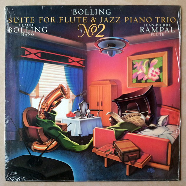 Sealed CBS | BOLLING/RAMPAL - - Suite for Flute & Jazz Piano Trio No. 2