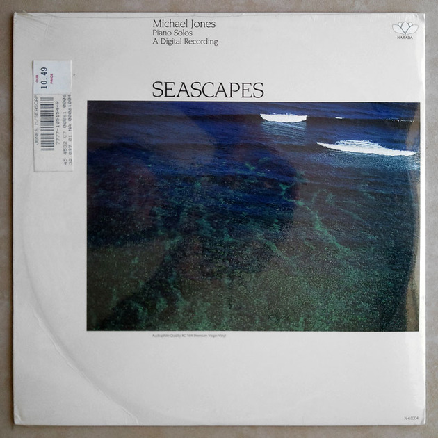 Sealed AUDIOPHILE Narada | MICHAEL JONES - - Seascapes