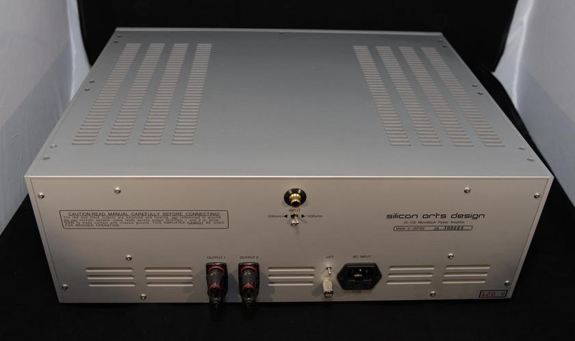 Silicon Arts ZL-120 Mono Amps Georgous Sounding-Concert Fidelity
