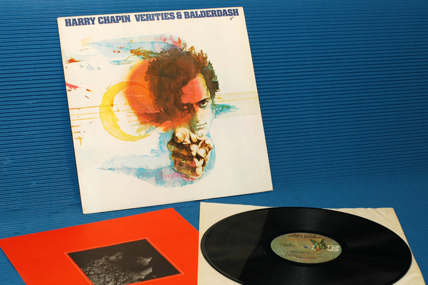 "HARRY CHAPIN -  - ""Verities & Balderdash"" -  Elektra Records - 1974"