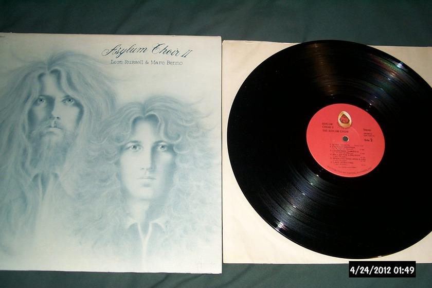 Leon Russell/Marc Benno - Asylum Choir II LP NM