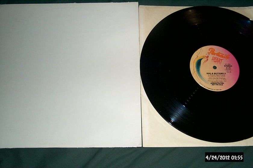 Heart - Dog  & Butterfly Promo 12 Inch Mono & Stereo NM