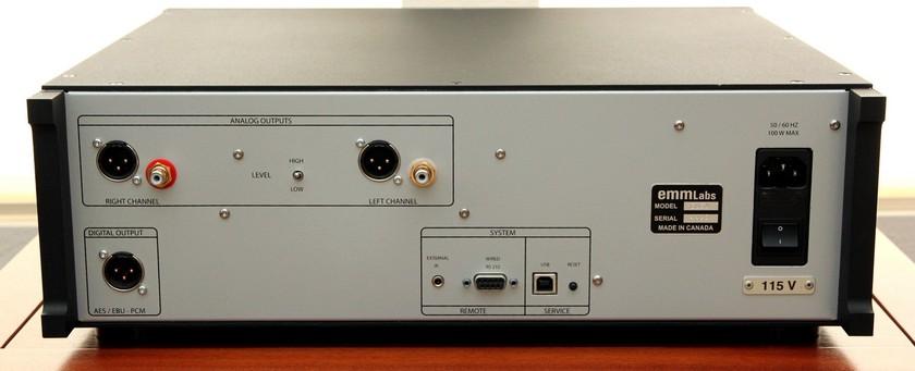 EMM Labs Meitner Design  CDSA SE  CD/SACD Player