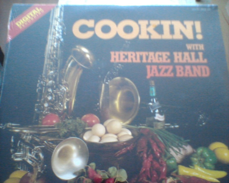 Heritage Hall Jazz Band with - Ellis Marsalis Cookin...SEALED!