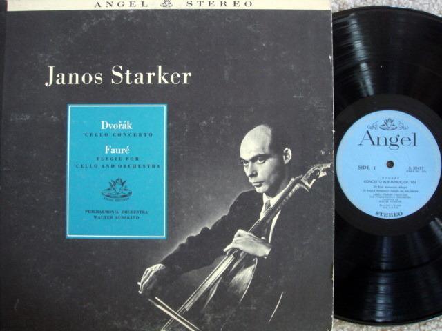 EMI Angel Blue / JANOS STARKER, - Dvorak Cello Concerto, NM!