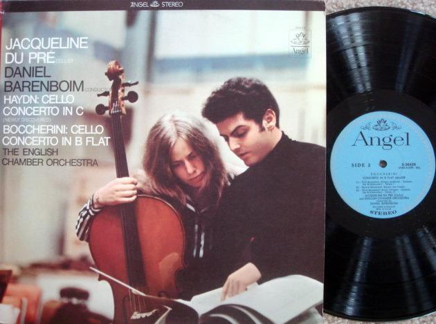 EMI Angel Blue / DU PRE-BARENBOIM, - Boccherini-Haydn Cello Concertos, NM!