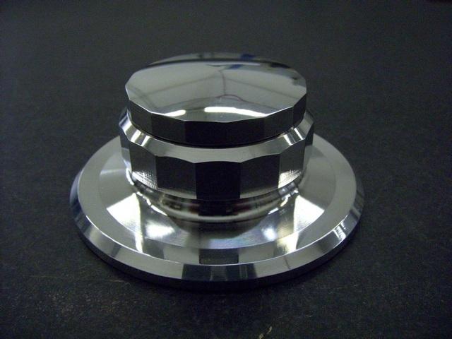 TTW Audio TTSuperClamp Light (7.0 oz/200 grams) All Aluminum Universal Fit/Rega/Thorens/ProJect/