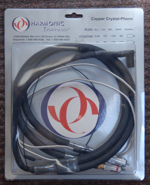Harmonic Technology Copper Crystal-Phono cable