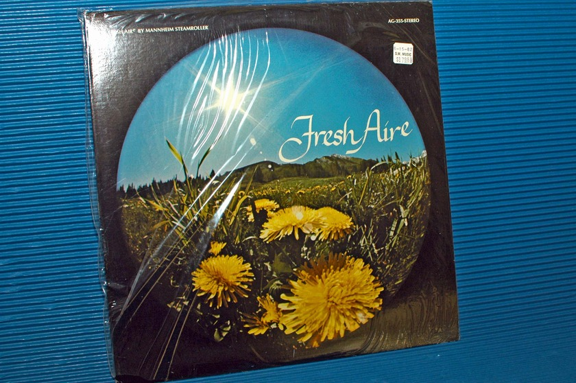 "MANNHEIM STEAMROLLER - - ""Fresh Aire (I)"" - American Gramaphone 1975 Sealed"