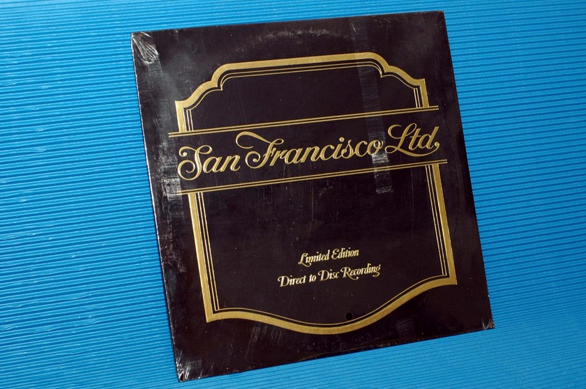 "SAN FRANCISCO, LTD -  - ""S/T"" -   Crystal Clear 1976 Ltd Ed D-D Sealed"