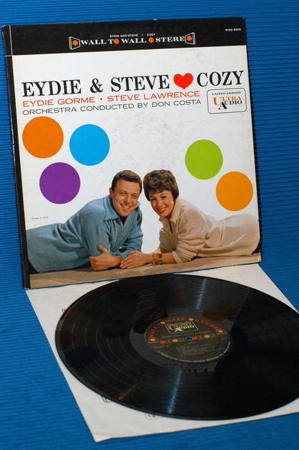"""EYDIE & STEVE -  - """"Cozy"""" -  United Artists Ultra Audio 1961"""