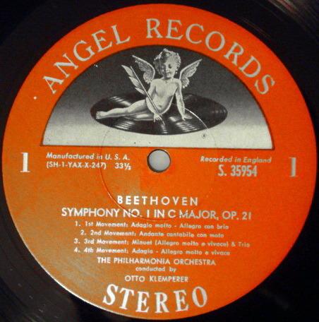 EMI Angel Semi-Circle / KLEMPERER, - Beethoven The Nine Symphonies,  NM, 8 LP Box Set!