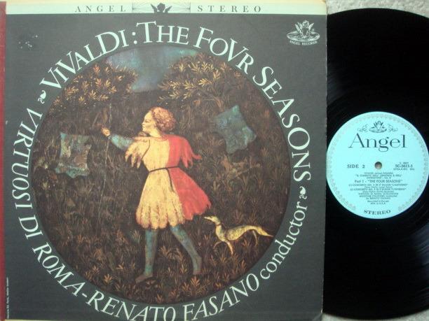 EMI Angel Blue / FASANO, - Vivaldi Four Seasons, NM!