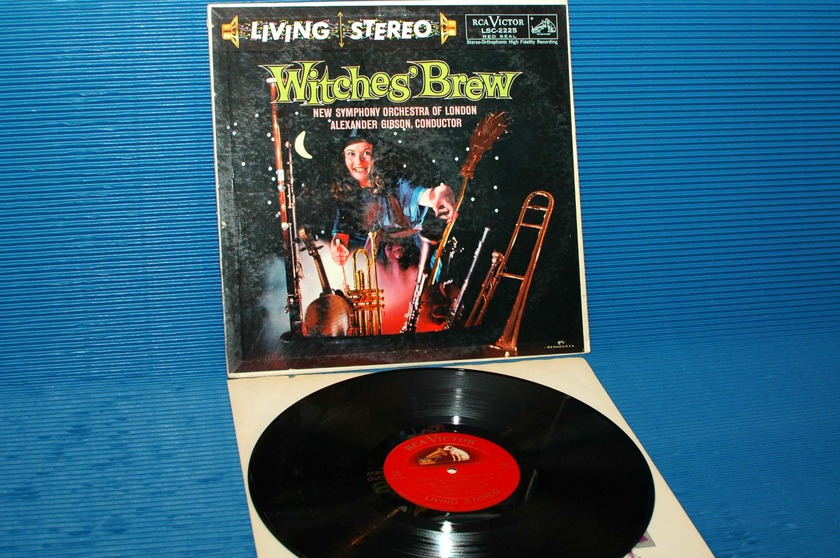 "ALEXANDER GIBSON - - ""Witches Brew"" -  RCA 'Shaded Dog'  1958 TAS List 1st pressing"