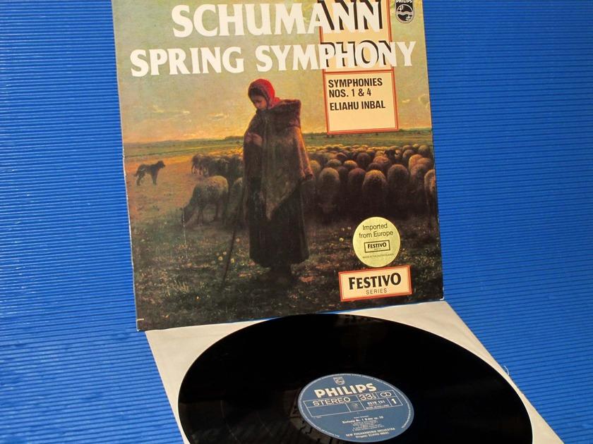 "SCHUMANN/Inbal -  - ""Spring Symphony"" -  Philips Import 1971"