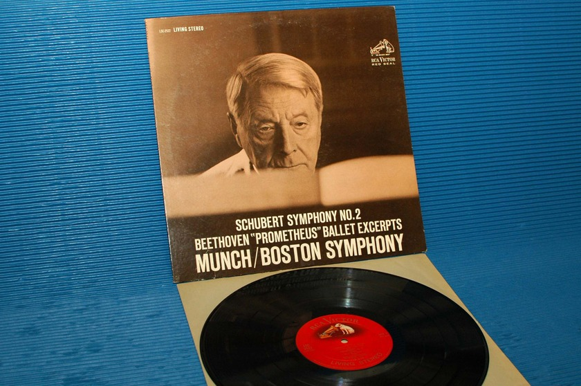 "SCHUBERT/Munch - - ""Symphony 2"" - RCA 'Shaded Dog' 1962 2S/3S"