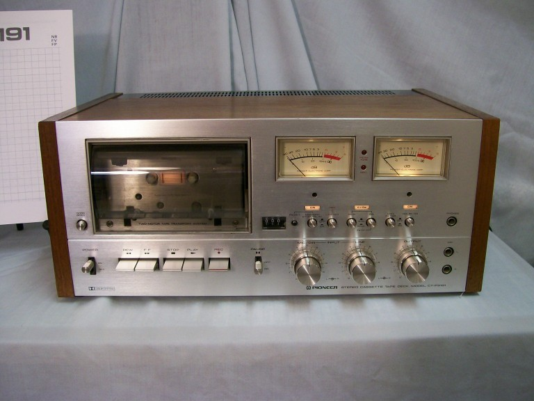 Pioneer Cassette Deck CT-F9191