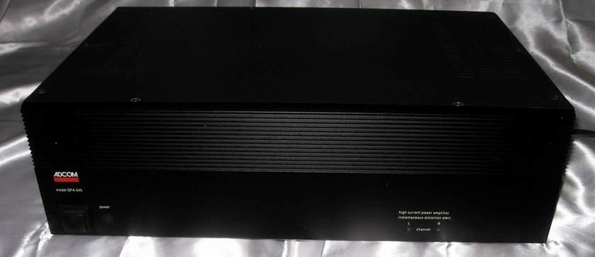 Adcom GFA-545 power amplifier