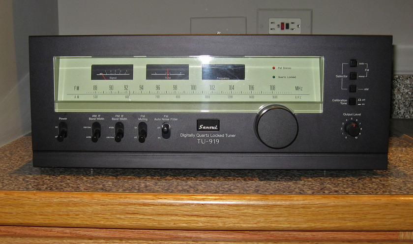 Sansui TU-919 Tuner (Many Prefer Over Sansui TU-X1) Chicago Pickup Possible
