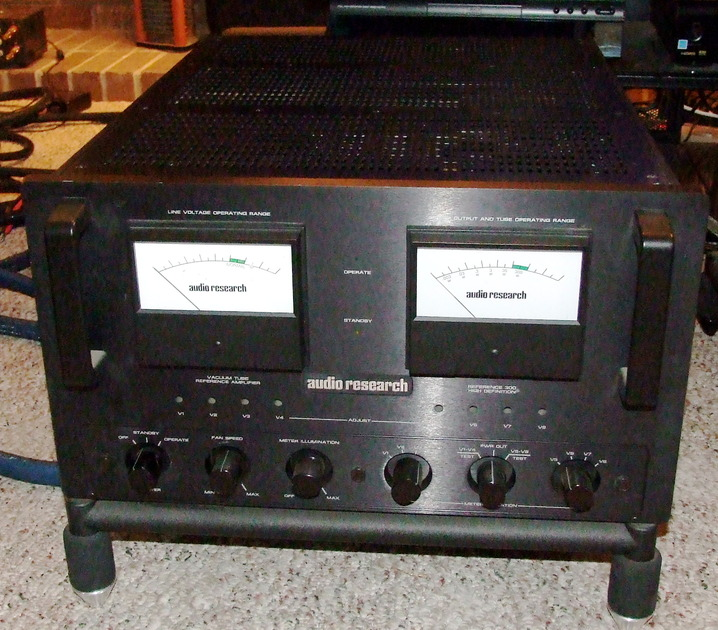 AUDIO RESEARCH REFERENCE 300 MKII factory upgraded sockets