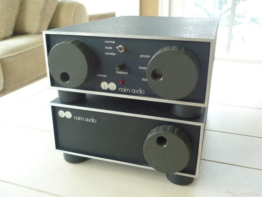 Naim Amplifiers (recapped) Nac42+Nap110 Awesome PRAT!
