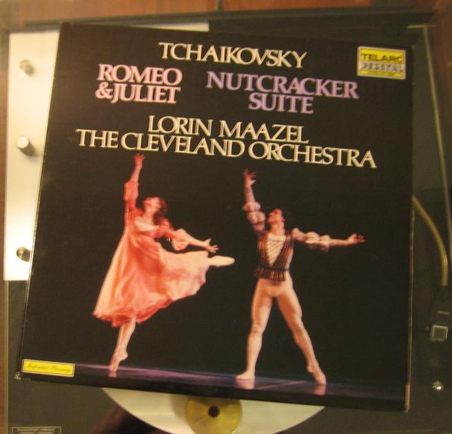 "Loren Maazel The Cleveland Orchestra - Tchaikovsky ""Romeo & Juliet"" ""Nutcracker Suite"" Telarc Stereo DG-10068 Unplayed"