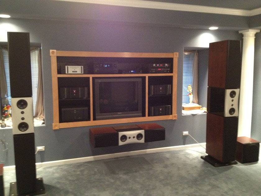 Dynaudio Evidence Masters & Center Rosewood