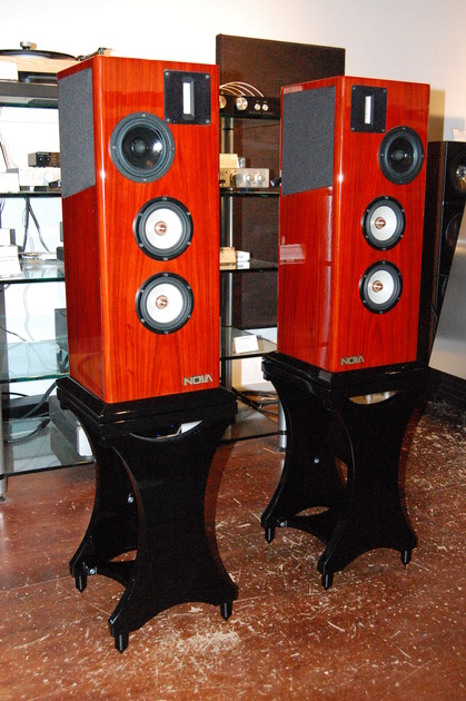 NOLA Speakers Micro Grand Reference Series II Rosewood
