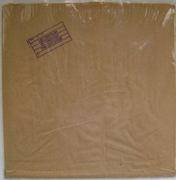 Led Zep - In Through Out Door NM with paper bag cover