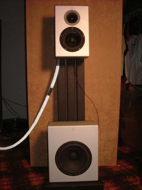 Audiomachina CRS CRM full-range loudspeakers