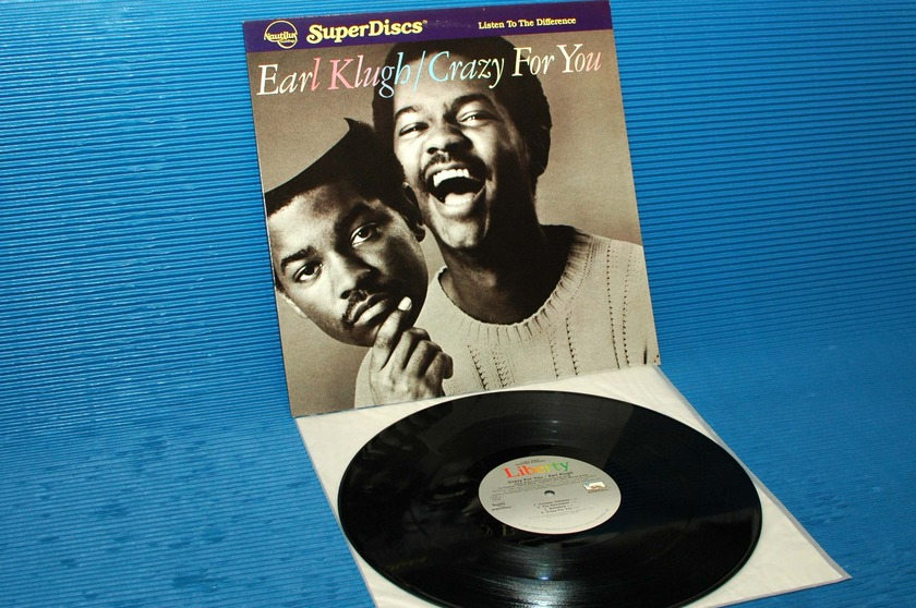 "EARL KLUGH - - ""Crazy For You"" -  Nautilus Super Disc 1982"