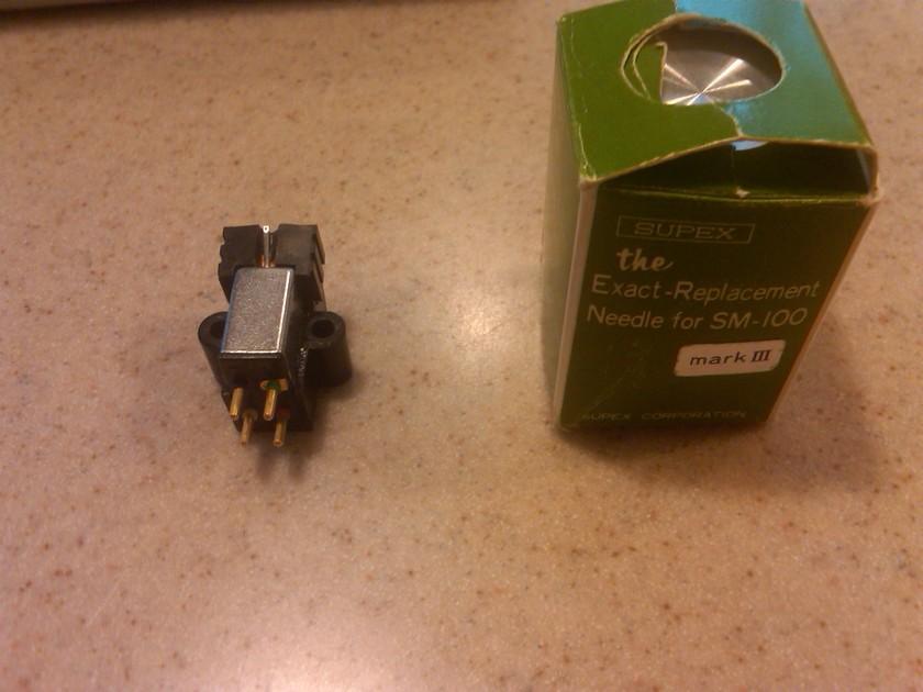 Supex SM-100 MK III backup cartridge with spare SMM/E stylus