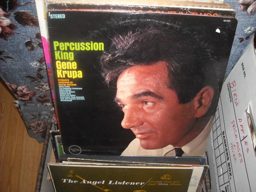 (lec) Gene Krupa - Percussion King Verve LP (c)