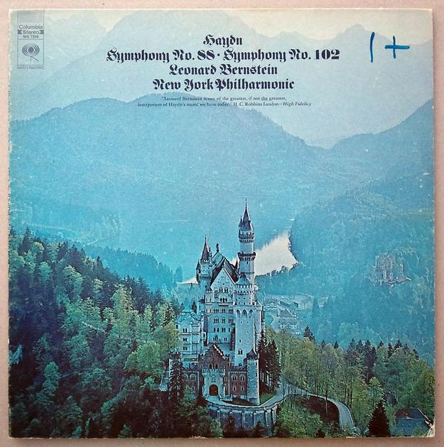 COLUMBIA | BERNSTEIN/HAYDN - Symphonies Nos. 88 & 102 / NM