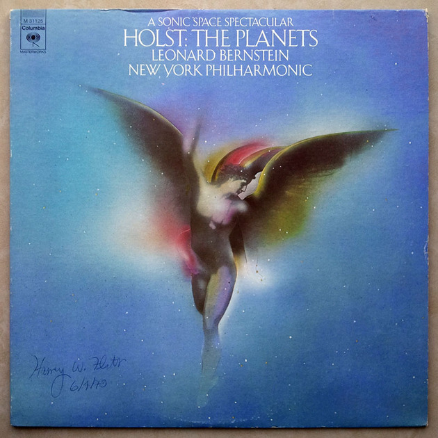 COLUMBIA   BERNSTEIN/HOLST - The Planets / NM