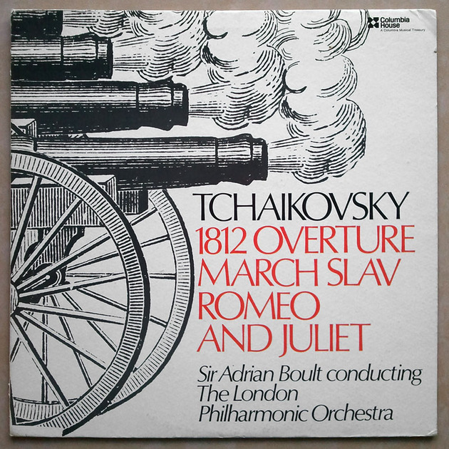 COLUMBIA | BOULT/TCHAIKOVSKY - 1812, Romeo and Juliet / EX