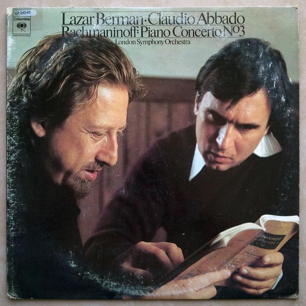 COLUMBIA | BERMAN/ABBADO/RACHMANINOFF - Piano Concerto No. 3 / EX