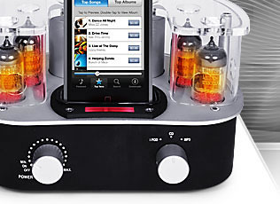 ROTH AUDIO  MC-4-The Music Cocoon greamp amp and ipod dock