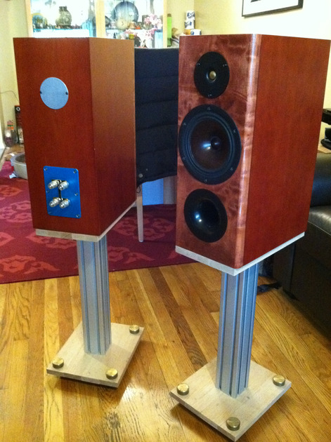 RJB Audio (DIY) Asterion Hiquphon + VifaXT 2-way bookshelf
