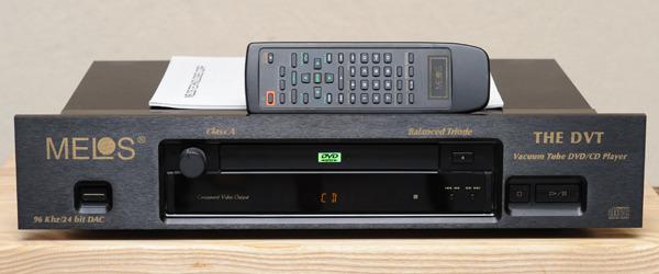 MELOS Technologies Corp The DVT Class A 24/96 CD-DVD player