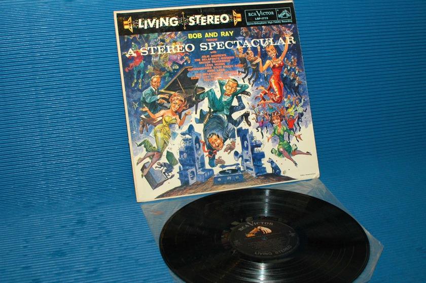 "BOB AND RAY -  - ""A Stereo Spectacular"" - RCA 'Black Dog' 1958 TAS rare!"
