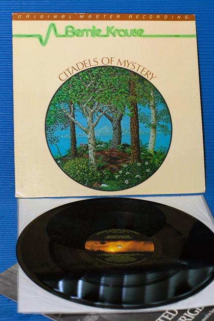 "BERNIE KRAUSE -  - ""Citadels Of Mystery"" -  Mobile Fidelity/MFSL 1984"