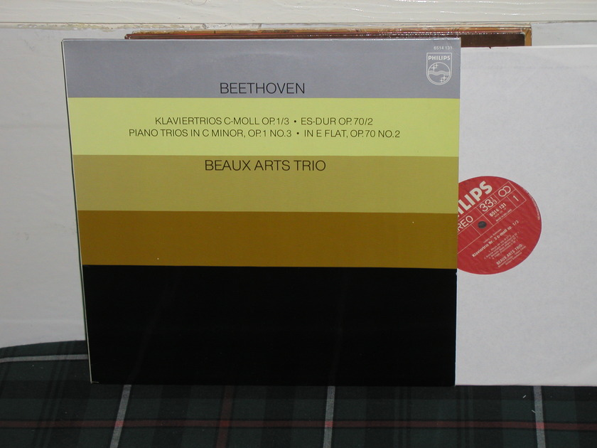 Beaux Arts Trio - Beethoven Trios Philips Import pressing 6514