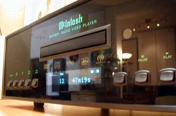 McIntosh MVP-861 DVD / CD Player MINT