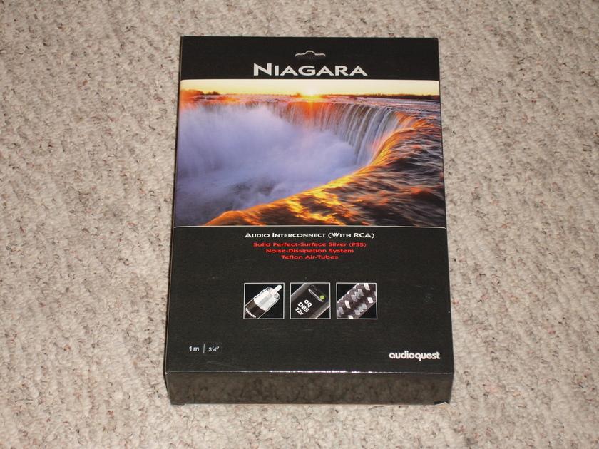 Audioquest / NIAGARA + OTHERS / RCA Connectors / Orginal Box