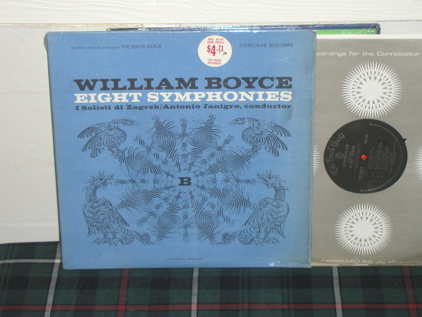 Janigro/Solisti - Boyce Eight Sym Vanguard Stereolab bgs 70668.