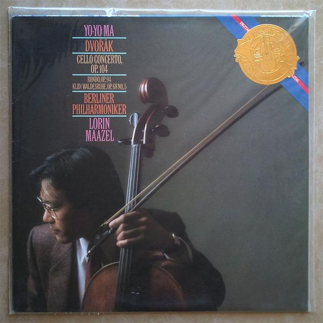 Sealed CBS Digital | YO-YO MA/MAAZEL/DVORAK - Cello Concerto, Rondo, Silent Woods