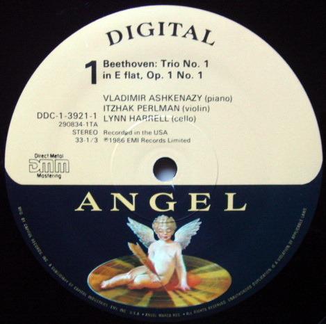 EMI Angel Digital / ASHKENAZY-PERLMAN-HARRELL, - Beethoven Complete Piano Trios, NM, 4LP Box Set!