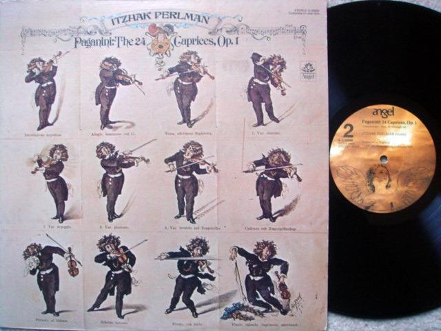 EMI Angel / PERLMAN, - Paganini 24 Caprices, NM!